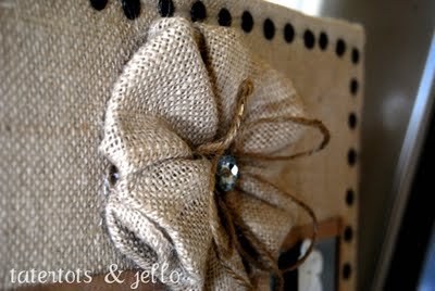 Fabric Flower #3 Multiple Burlap Tutorial