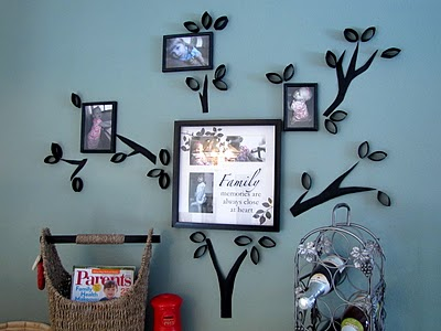 Family Tree Wall Art Tutorial