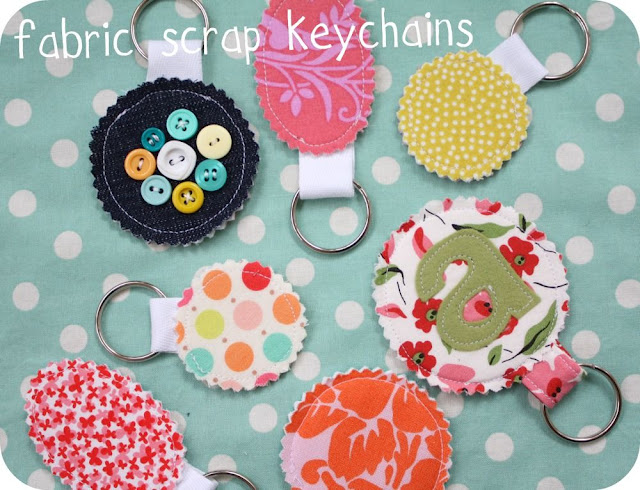 Scrap Keychain Rings Tutorial