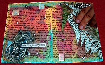 Easy Peasy Art Journaling Tutorials