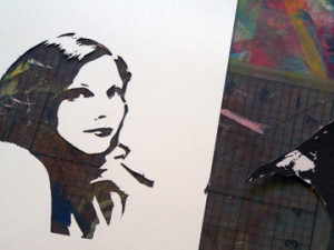 selfportraitstencil-littleblackkitty