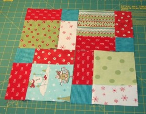 Disappearing Nine Patch Block by Cluck Cluck Sew