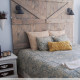 Faux Barn Door Headboard Tutorial