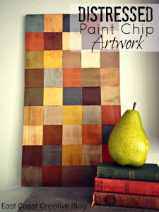 Distressed Paint Chip Artwork Tutorial
