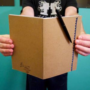 LuxPerDiem - Handmade Notebook Tutorial