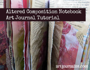 Altered Composition Notebook Art Journal Tutorial