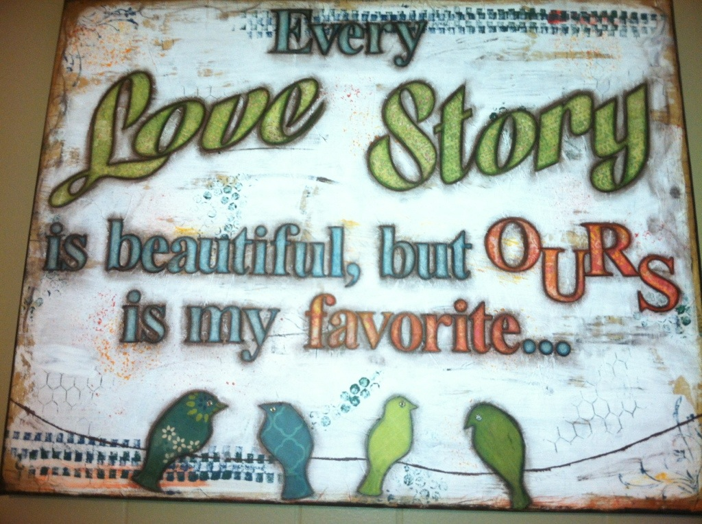 Love Story Canvas