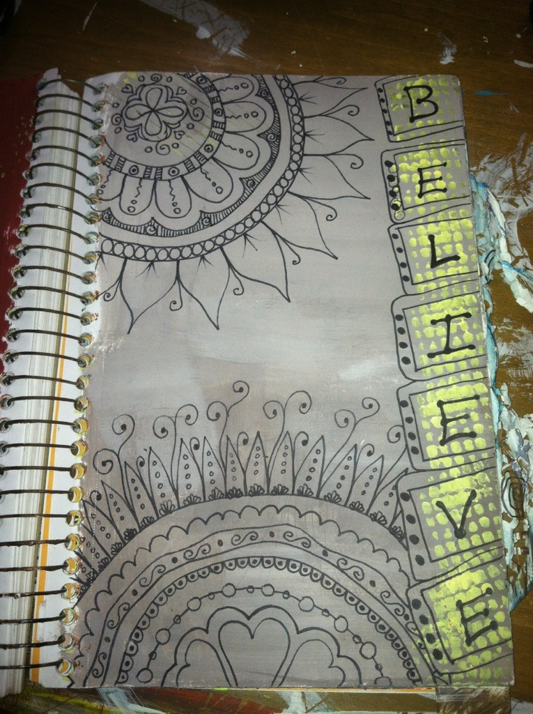 Doodled Art Journal Pages