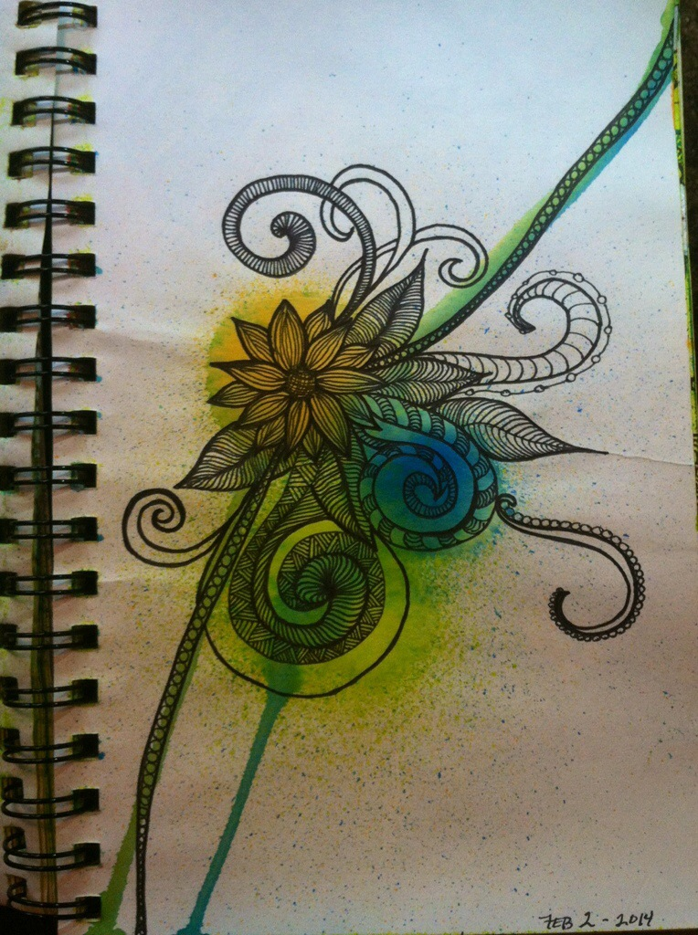 Sketchbook : Random Doodles (5 pgs)