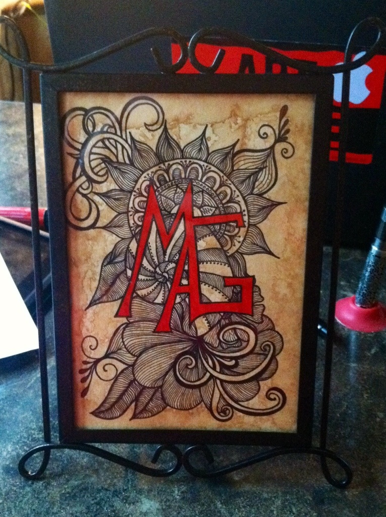 Doodle Art : Antique Tangles