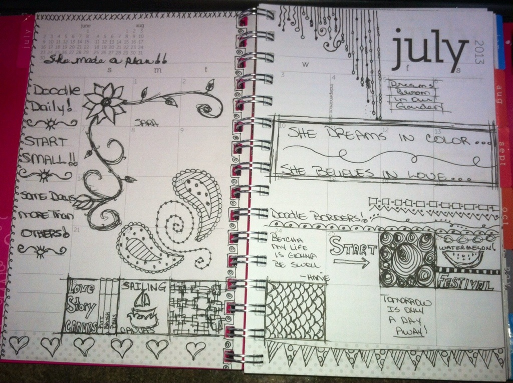 Doodle Daily : July 2013