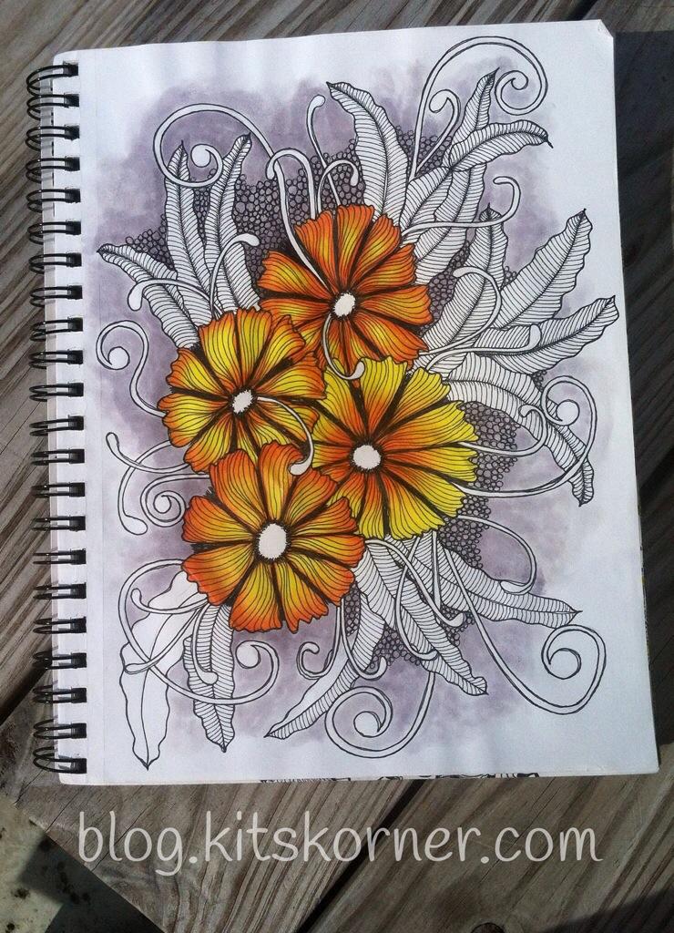 Sketchbook : Colored Pencil Attempt