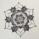 Sketchbook : Closed Composition Mandalas (almost!)