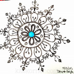 Sketchbook : 100 Mandalas Challenge Week 4