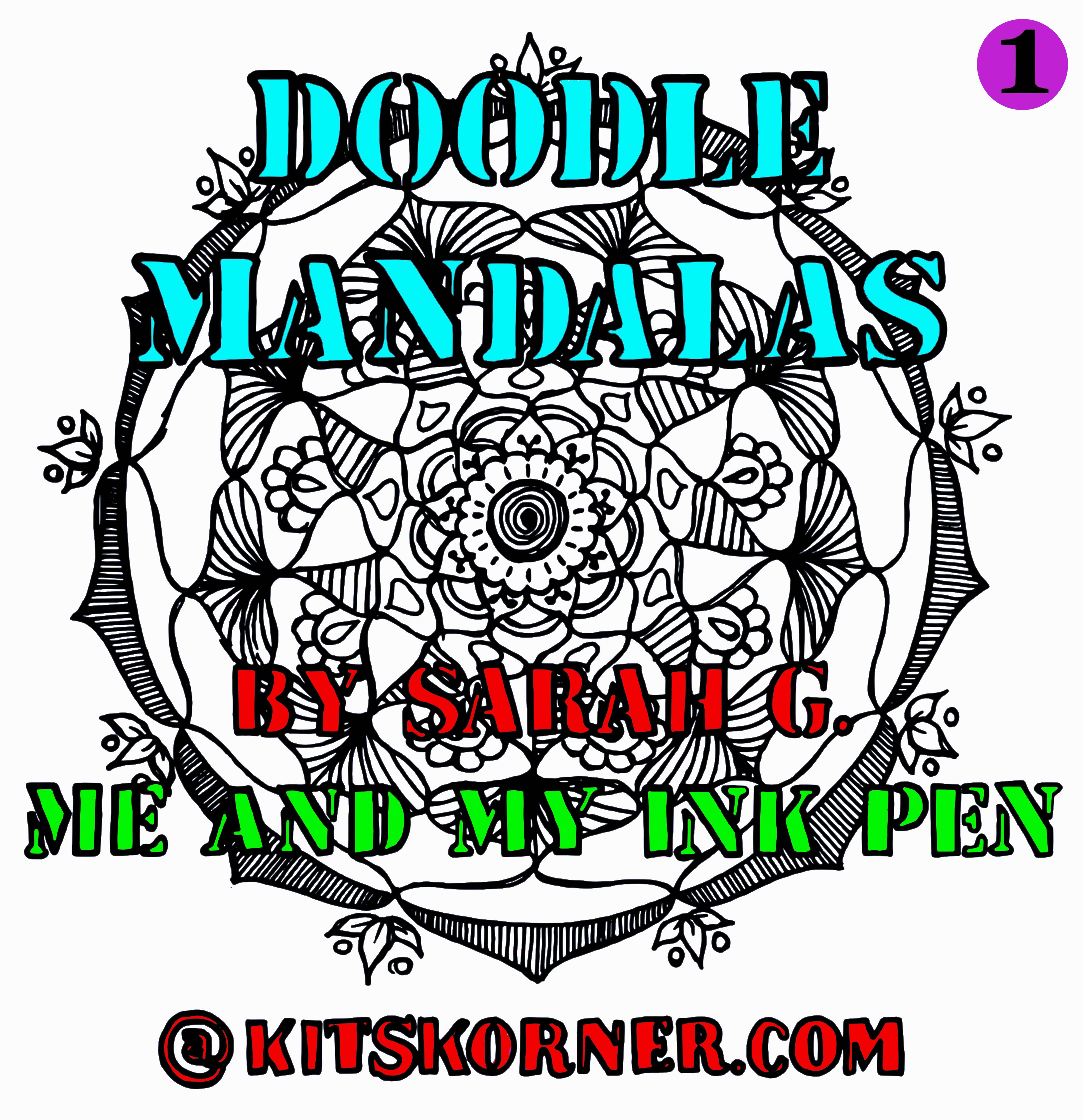 Free Coloring Book – Doodle Mandalas