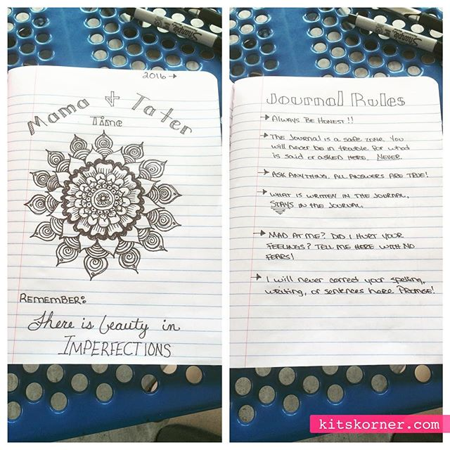 InstaDiary : Mother Daughter Journal