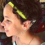 Elf ears for her birthday…..
