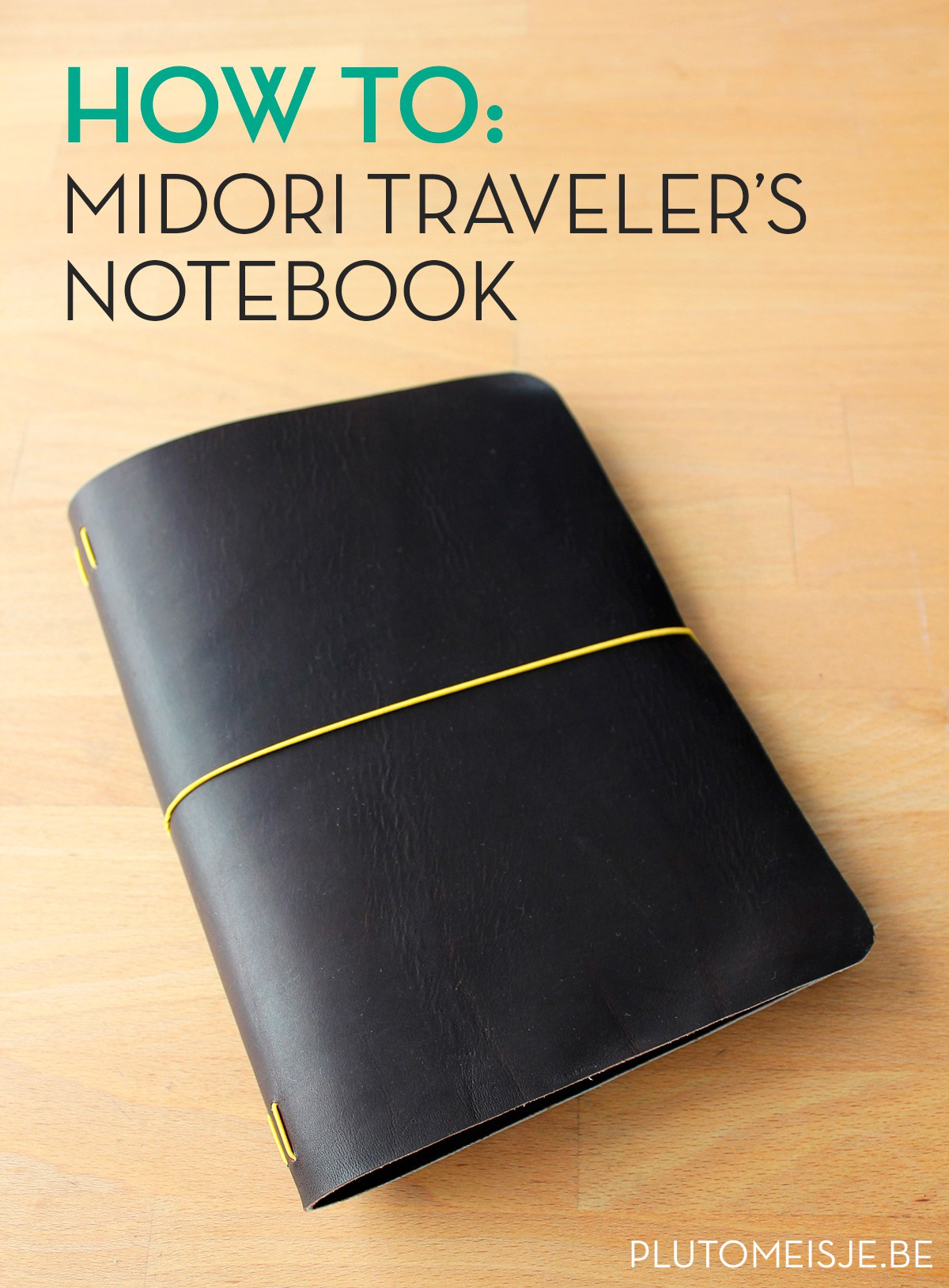 Making A Midori Traveler's Notebook Tutorial by Plutomeisje