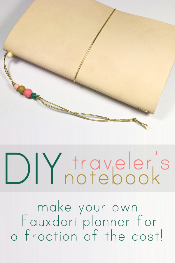 DIY Traveler's Notebook Cover by Stamped In His Image