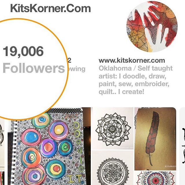 Look what happened last night!! 19k and growing on Pinterest! Crazy cool!