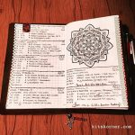 Jan 30 – Feb 5 in my Mandala (BuJo) Journal…..