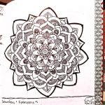 Jan 30 – Feb 5 – Mandala BuJo Closeup…