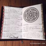 Feb 20-26 in my Mandala (BuJo) Journal…..