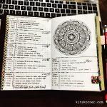 Feb 27-Mar 5 in my Mandala (BuJo) Journal…..