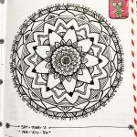 Mar 6-12 – Mandala BuJo Closeup…