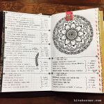 Mar 6-Mar 12 in my Mandala (BuJo) Journal…..