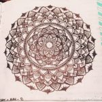 Apr 3-9 – Mandala BuJo Closeup…