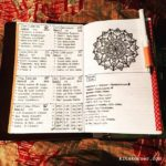 Apr 30-May 6 in my Mandala (BuJo) Journal…..