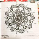 May 7-13 – Mandala BuJo Closeup…