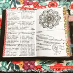 May 7-13 in my Mandala (BuJo) Journal…..