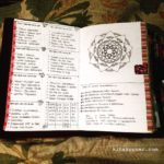 May 21-26 in my Mandala (BuJo) Journal…..