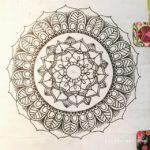 May 28-Jun 3 – Mandala BuJo Closeup…
