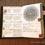 June 4-10 in my Mandala (BuJo) Journal…..