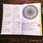 June 11-17 in my Mandala (BuJo) Journal…..