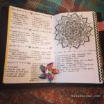 June 18-24 in my Mandala (BuJo) Journal…..
