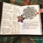 Jun 25-Jul 1 in my Mandala (BuJo) Journal…..