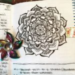 Jun 25-Jul 1 – Mandala BuJo Closeup…