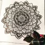 Jul 2-8 – Mandala BuJo Closeup…