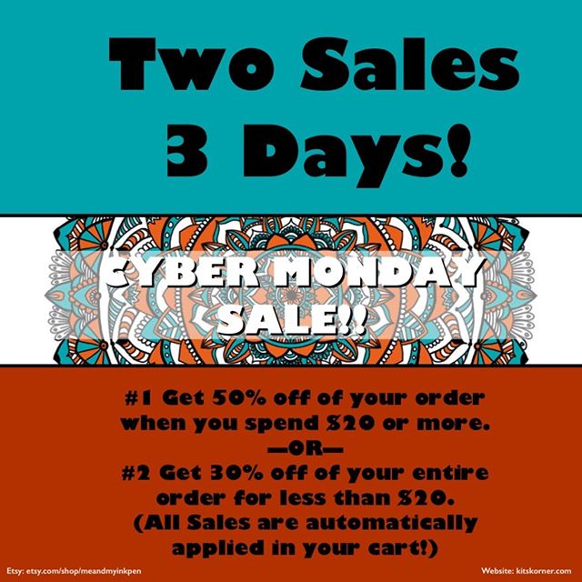 Get an early start on Cyber Monday! #50%Off