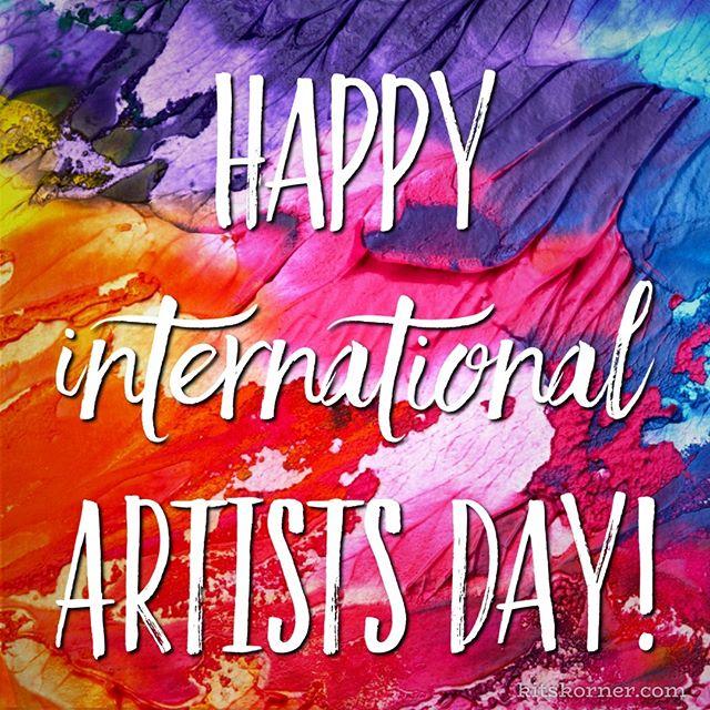 Happy International Artists Day!