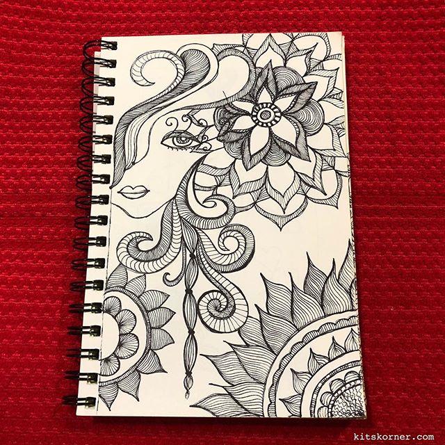 TBT : 2/2014 Sketchbook Zentagle Doodles