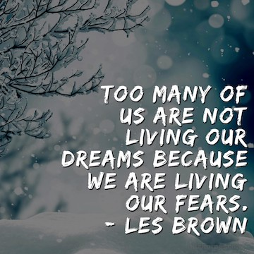 Monday Mantra : Too many of us are not living our dreams