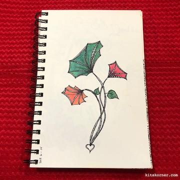 TBT : 2/6/2014 Sketchbook Zentagle Doodles
