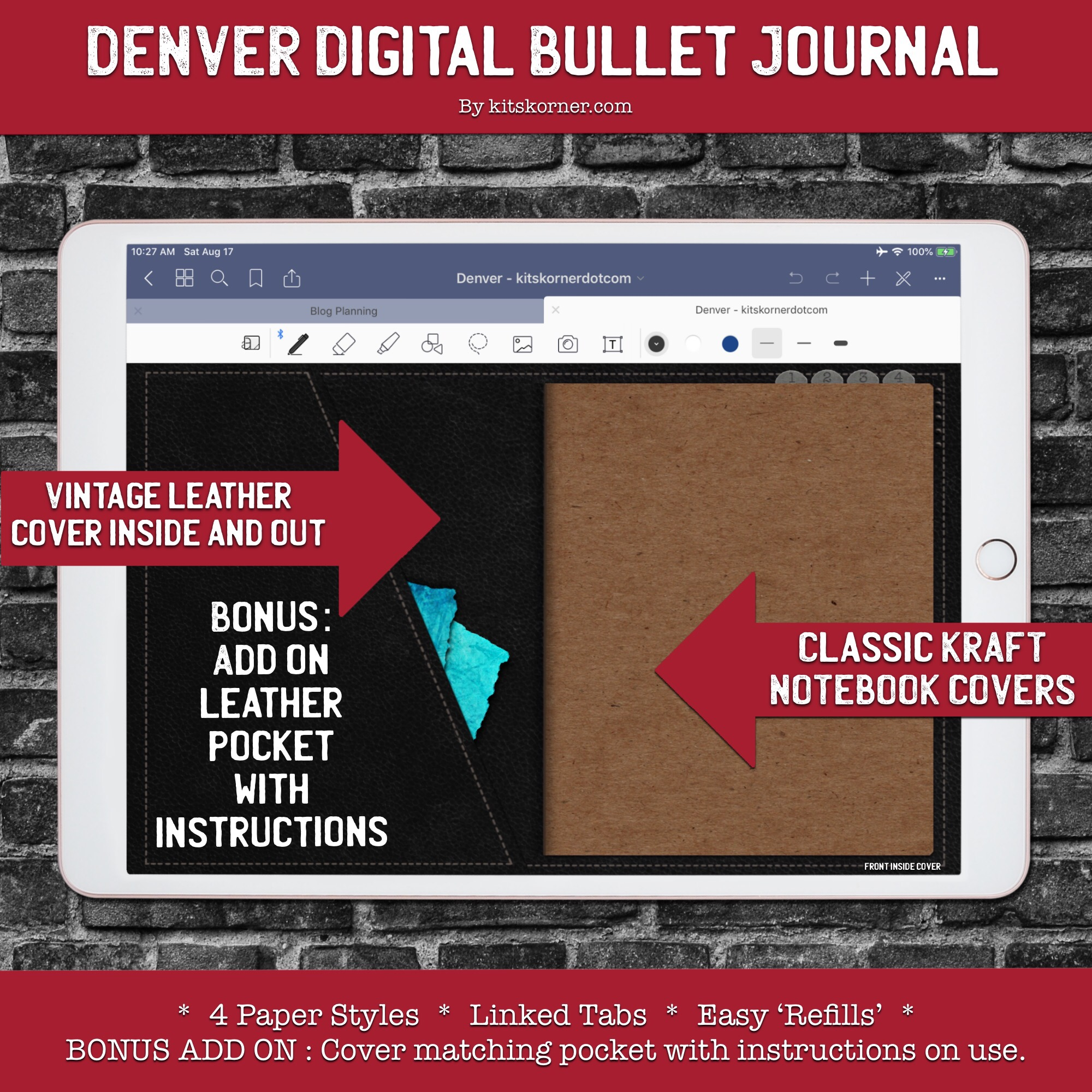 Denver Digital Bullet Journal