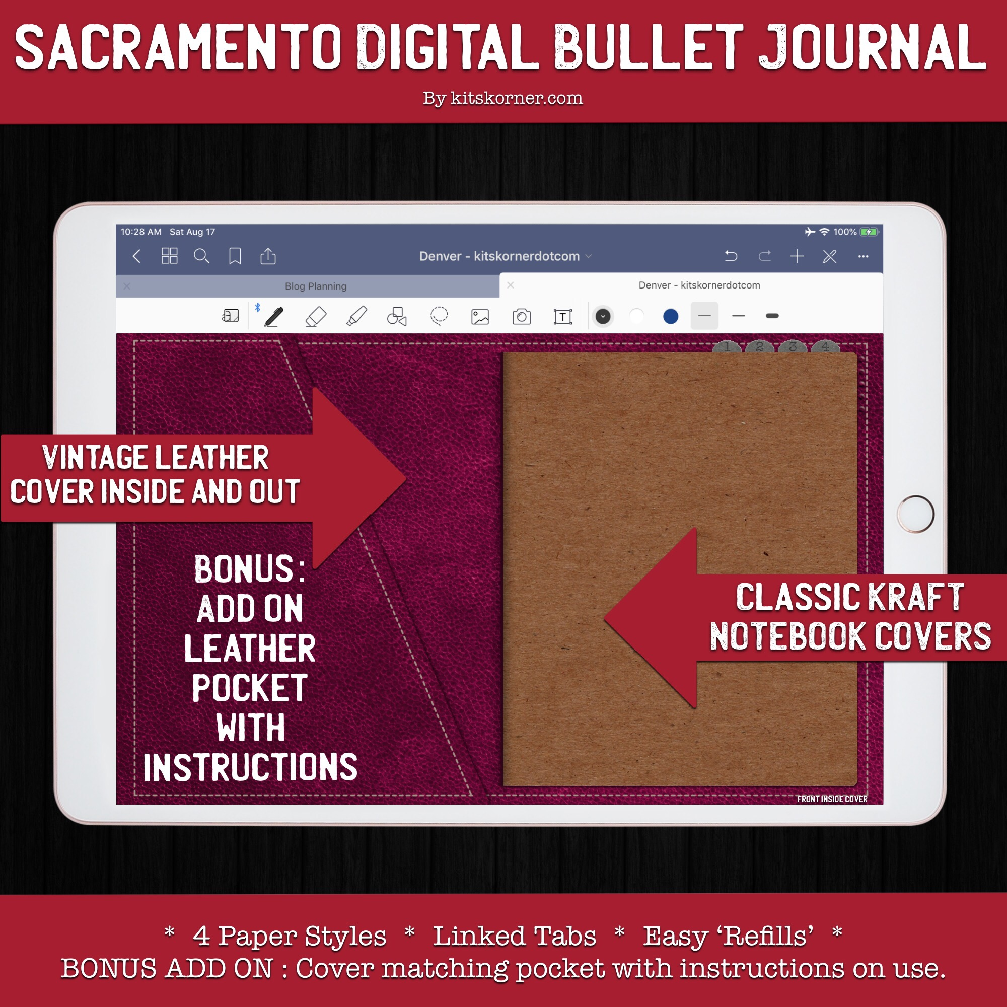 Sacramento Digital Bullet Journal