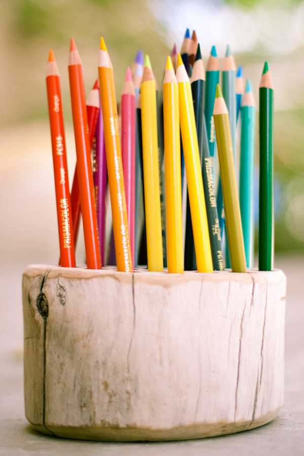 Wood Pencil Holder Tutorial